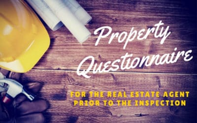 Property Questionnaire for Real Estate Agents